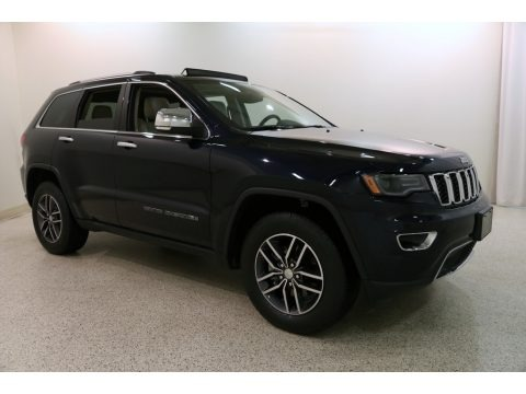 True Blue Pearl 2018 Jeep Grand Cherokee Limited 4x4