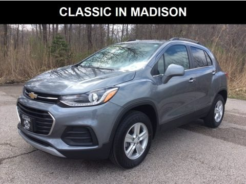 Satin Steel Metallic 2019 Chevrolet Trax LT AWD