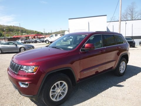 Velvet Red Pearl 2019 Jeep Grand Cherokee Laredo 4x4