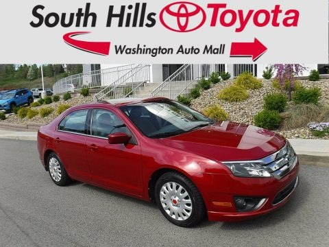 Red Candy Metallic 2010 Ford Fusion SE