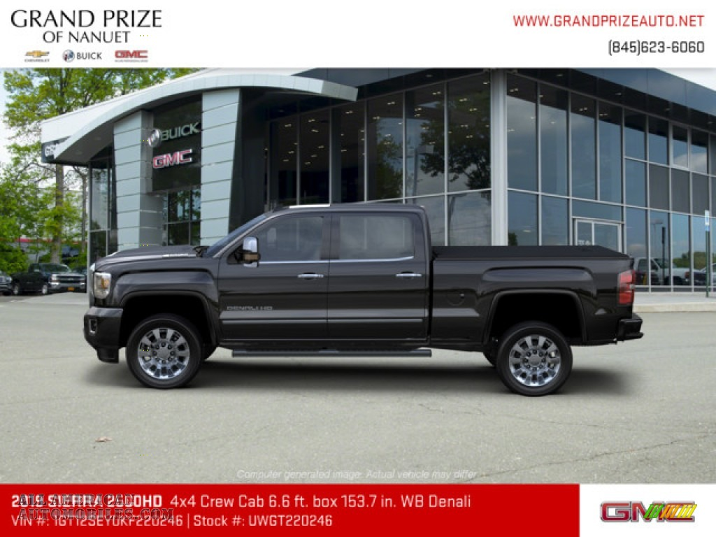 2019 Sierra 2500HD Denali Crew Cab 4WD - Onyx Black / Jet Black photo #2
