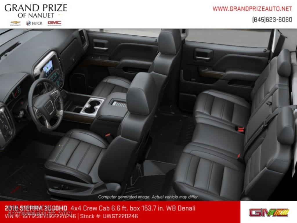 2019 Sierra 2500HD Denali Crew Cab 4WD - Onyx Black / Jet Black photo #7