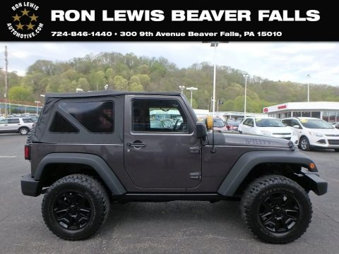 Granite Metallic 2014 Jeep Wrangler Sport 4x4