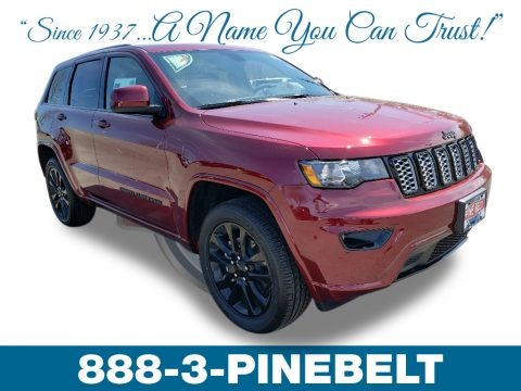 Velvet Red Pearl 2019 Jeep Grand Cherokee Altitude 4x4