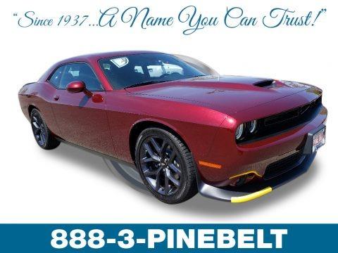 Octane Red Pearl 2019 Dodge Challenger GT