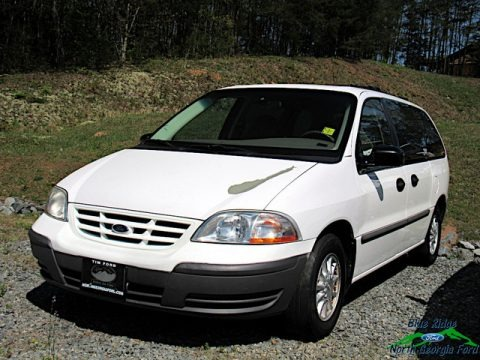 Vibrant White 2000 Ford Windstar LX
