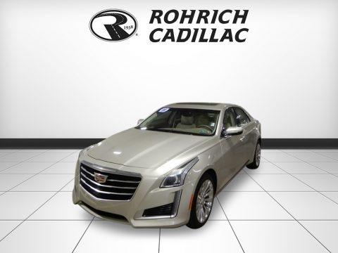 Radiant Silver Metallic 2015 Cadillac CTS 2.0T Luxury AWD Sedan