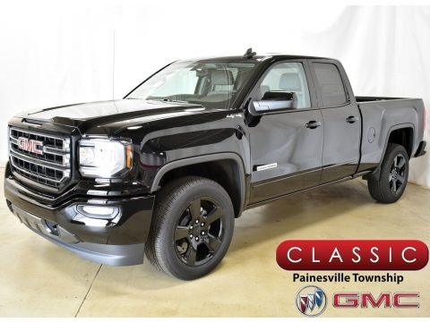 Onyx Black 2019 GMC Sierra 1500 Limited Elevation Double Cab 4WD