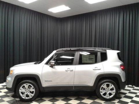 Glacier Metallic 2019 Jeep Renegade Limited 4x4