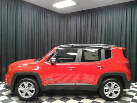 Colorado Red 2019 Jeep Renegade Limited 4x4