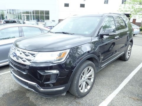 Agate Black 2019 Ford Explorer Limited 4WD