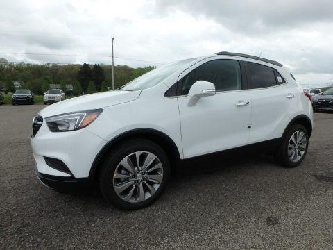 Summit White 2019 Buick Encore Preferred
