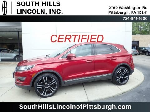 Ruby Red 2017 Lincoln MKC Reserve AWD