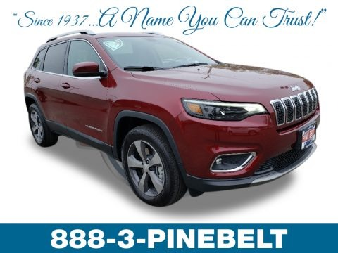 Velvet Red Pearl 2019 Jeep Cherokee Limited 4x4