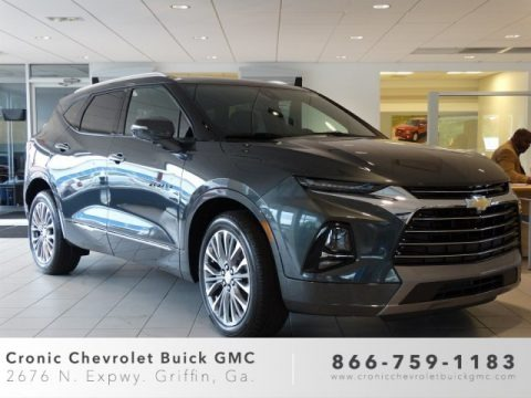 Nightfall Metallic 2019 Chevrolet Blazer Premier AWD