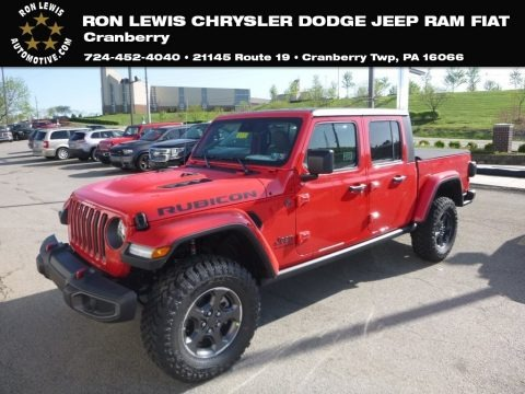 Firecracker Red 2020 Jeep Gladiator Rubicon 4x4