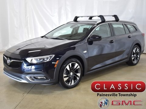 Dark Moon Blue Metallic 2019 Buick Regal TourX Essence AWD