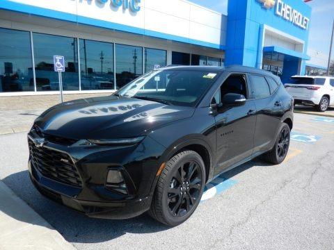 Black 2019 Chevrolet Blazer RS AWD