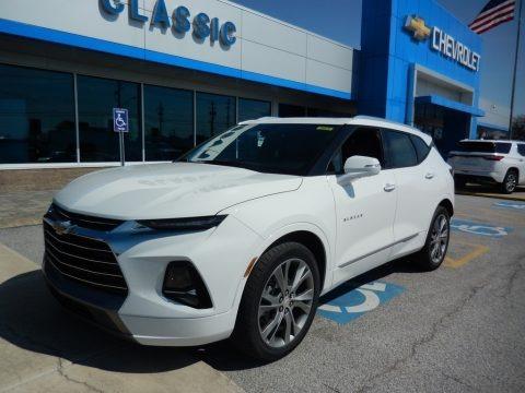 Summit White 2019 Chevrolet Blazer Premier