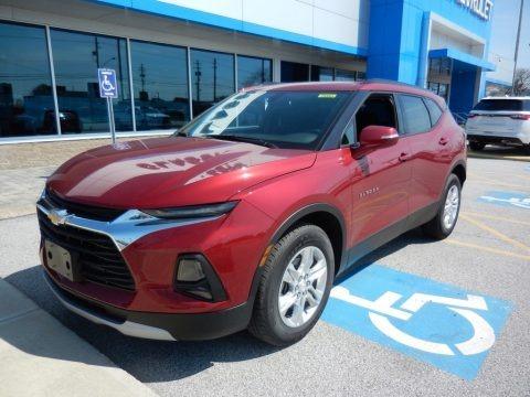 Cajun Red Tintcoat 2019 Chevrolet Blazer 3.6L Leather AWD