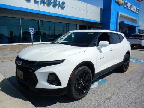 Summit White 2019 Chevrolet Blazer RS AWD