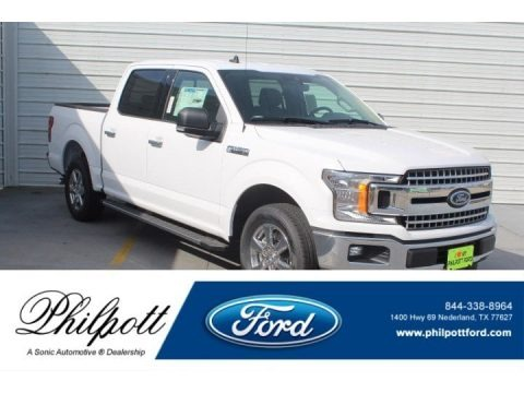 Oxford White 2019 Ford F150 XLT SuperCrew