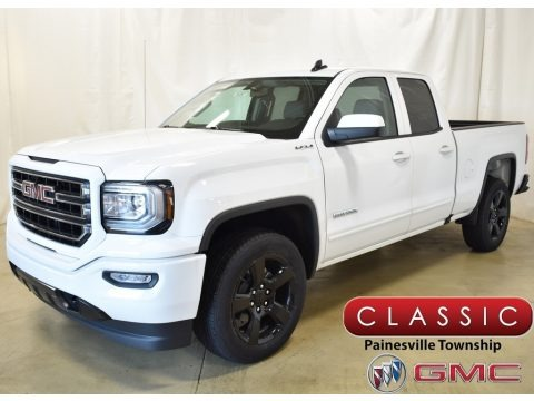 Summit White 2019 GMC Sierra 1500 Limited Elevation Double Cab 4WD