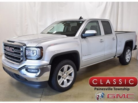 Quicksilver Metallic 2019 GMC Sierra 1500 Limited SLE Double Cab 4WD