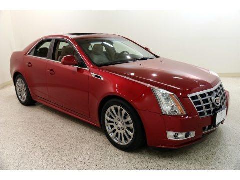 Crystal Red Tintcoat 2012 Cadillac CTS 4 3.6 AWD Sedan