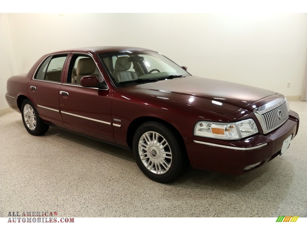 2011 Grand Marquis LS Ultimate Edition - Dark Toreador Red Metallic / Light Camel photo #1