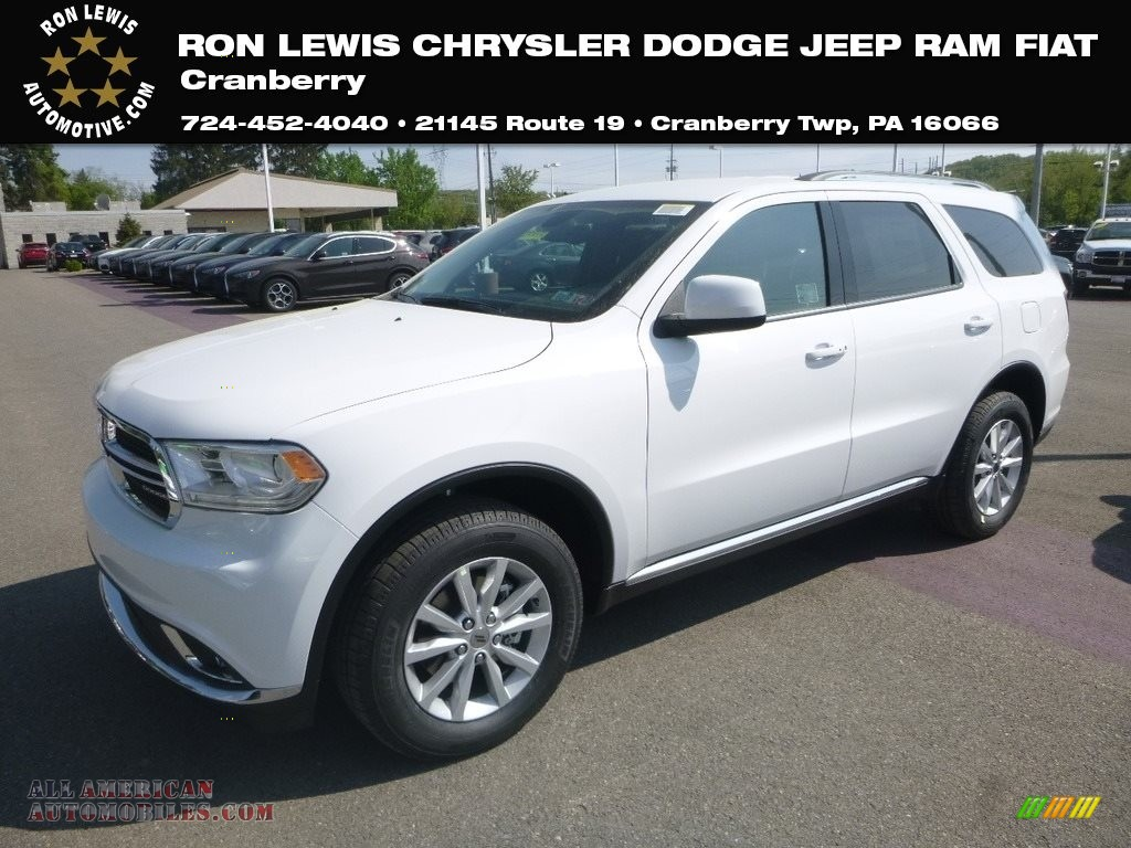 2019 Durango SXT AWD - White Knuckle / Black photo #1