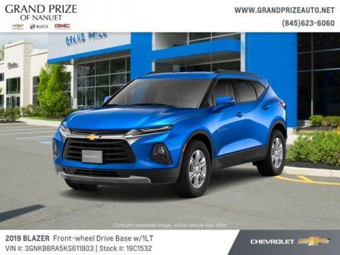 Kinetic Blue Metallic 2019 Chevrolet Blazer 2.5L Cloth