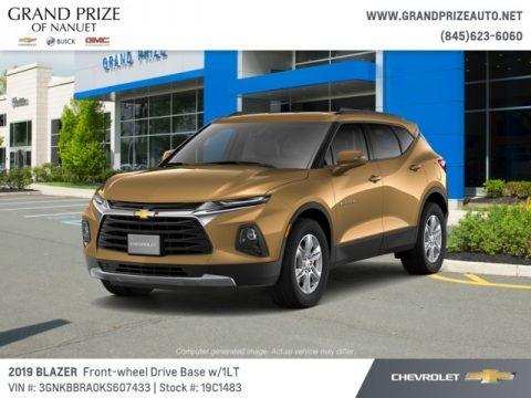 Sunlit Bronze Metallic 2019 Chevrolet Blazer 2.5L Cloth