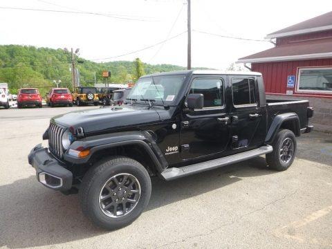 Black 2020 Jeep Gladiator Overland 4x4