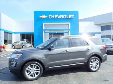 Magnetic Metallic 2016 Ford Explorer Limited 4WD