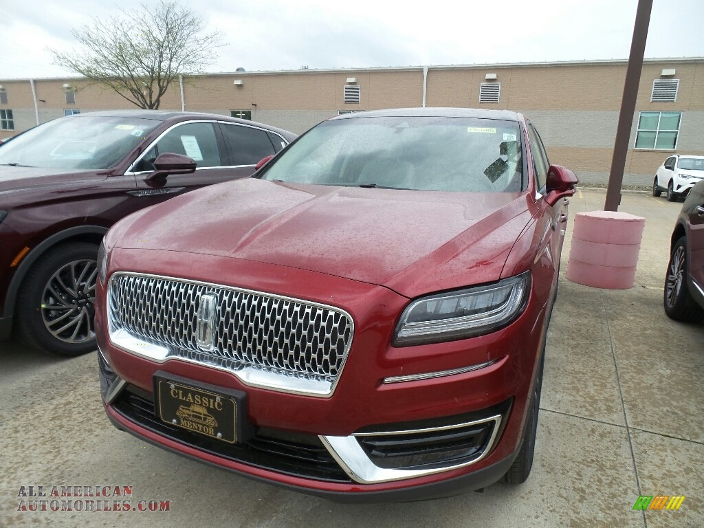 Ruby Red / Cappuccino Lincoln Nautilus Reserve AWD
