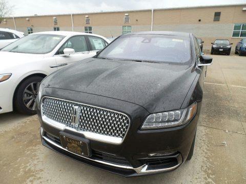 Infinite Black Metallic 2019 Lincoln Continental Reserve AWD