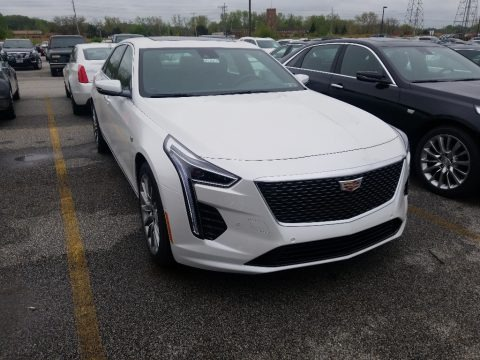 Crystal White Tricoat 2019 Cadillac CT6 Luxury AWD