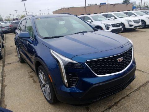 Atlantic Metallic 2019 Cadillac XT4 Sport AWD
