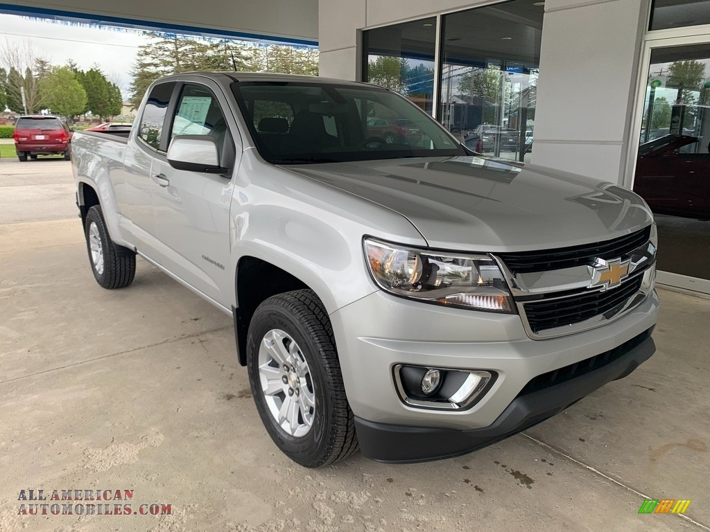 2019 Colorado LT Extended Cab - Silver Ice Metallic / Jet Black photo #1