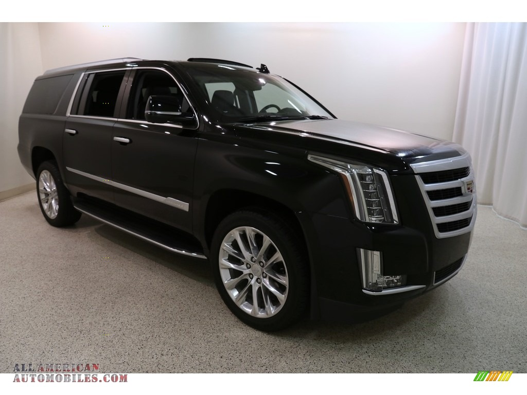 2019 Escalade ESV Luxury 4WD - Black Raven / Jet Black photo #1
