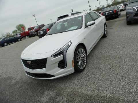Crystal White Tricoat 2019 Cadillac CT6 Premium Luxury AWD