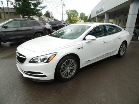 White Frost Tricoat 2019 Buick LaCrosse Essence AWD
