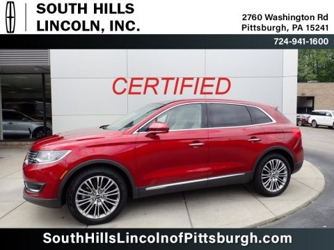 Ruby Red 2017 Lincoln MKX Reserve AWD