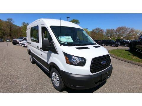 Oxford White 2019 Ford Transit Van 150 MR Regular