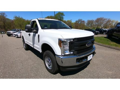 Oxford White 2019 Ford F350 Super Duty XL Regular Cab 4x4