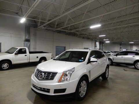 Radiant Silver Metallic 2015 Cadillac SRX Luxury AWD