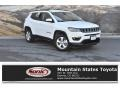 Jeep Compass Latitude 4x4 Bright White photo #1