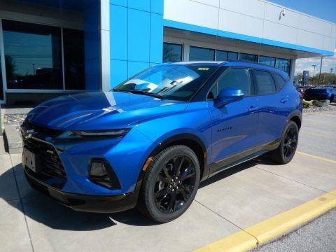 Kinetic Blue Metallic 2019 Chevrolet Blazer RS AWD