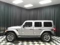 Jeep Wrangler Unlimited Sahara 4x4 Billet Silver Metallic photo #1